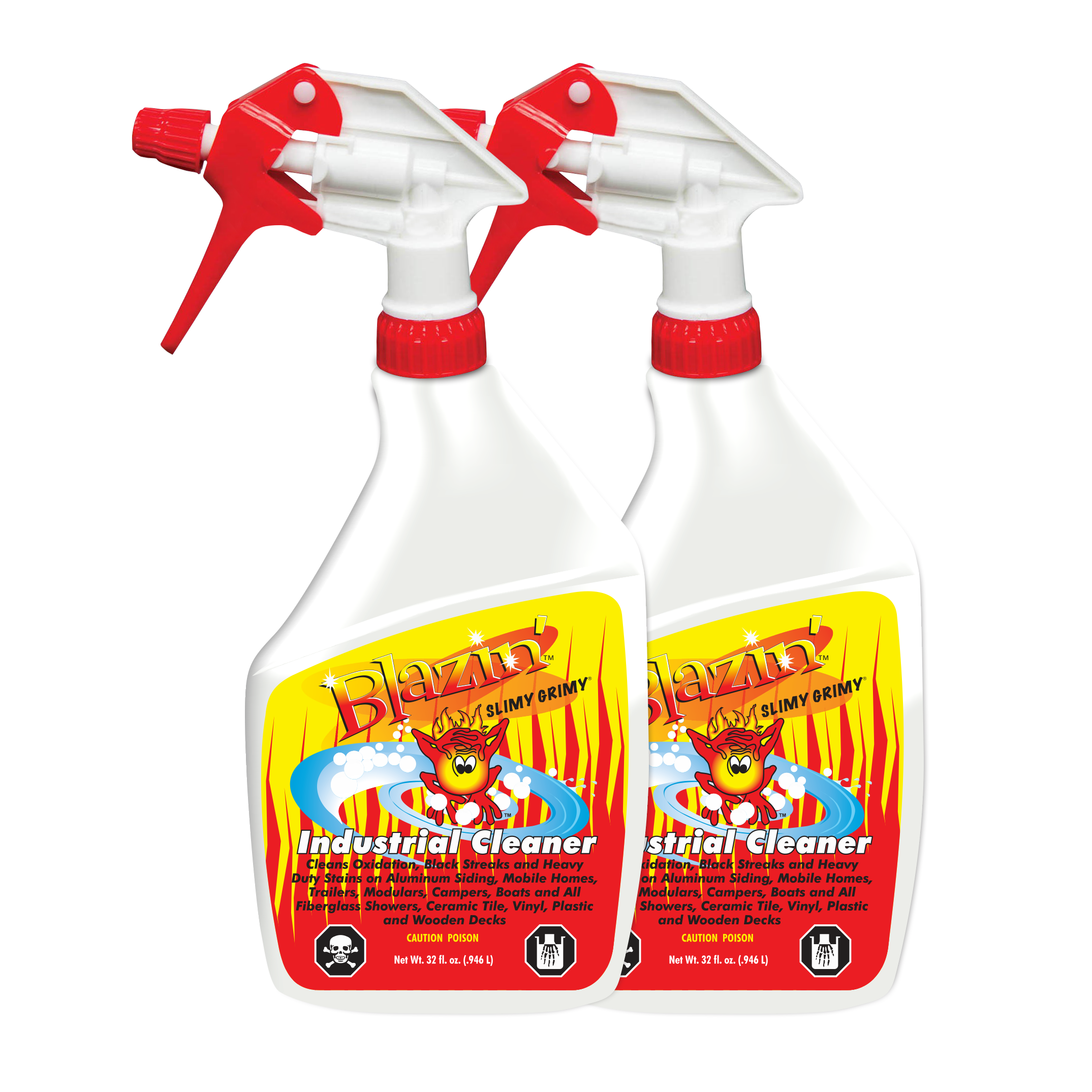 Blazin Industrial Cleaner Remove Oxidation From Aluminum